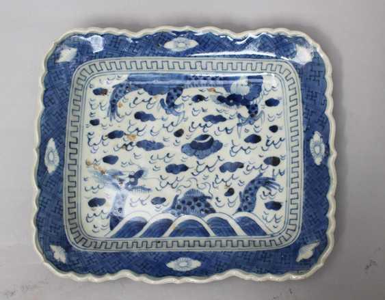 Chinese porcelain dish - photo 1