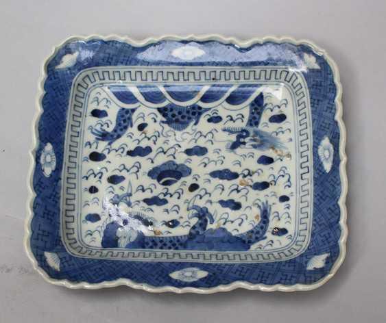 Chinese porcelain dish - photo 2
