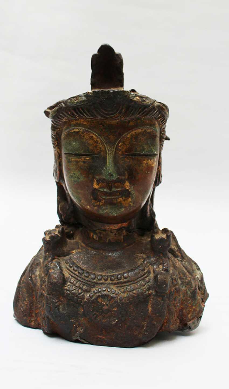 Head of an asian godness - photo 1