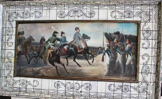 Pair of Napoleonic miniatures - photo 2