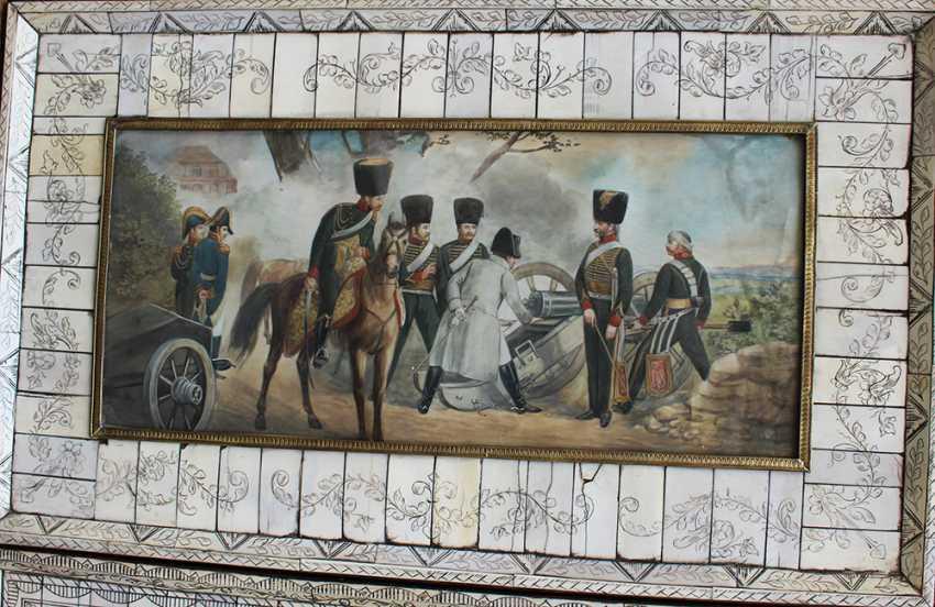 Pair of Napoleonic miniatures - photo 3