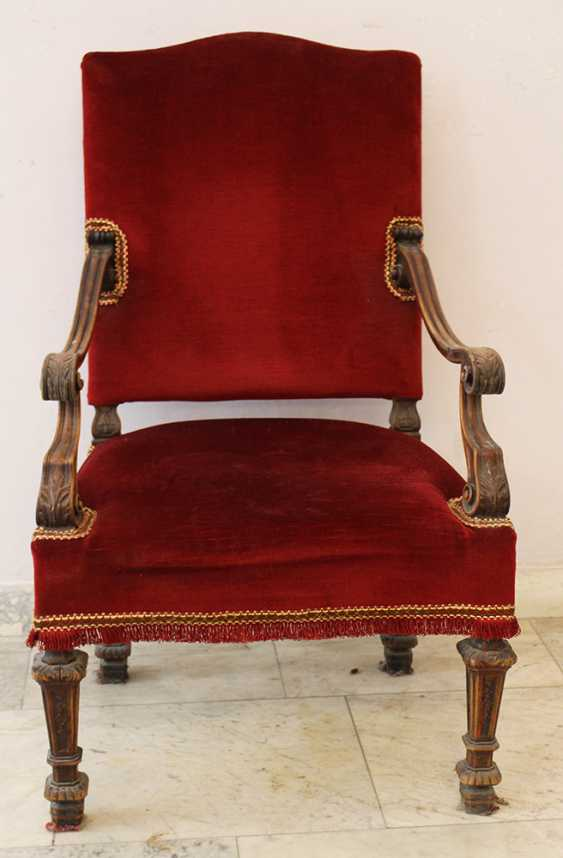 Arm chair in Baroque Style  - photo 2