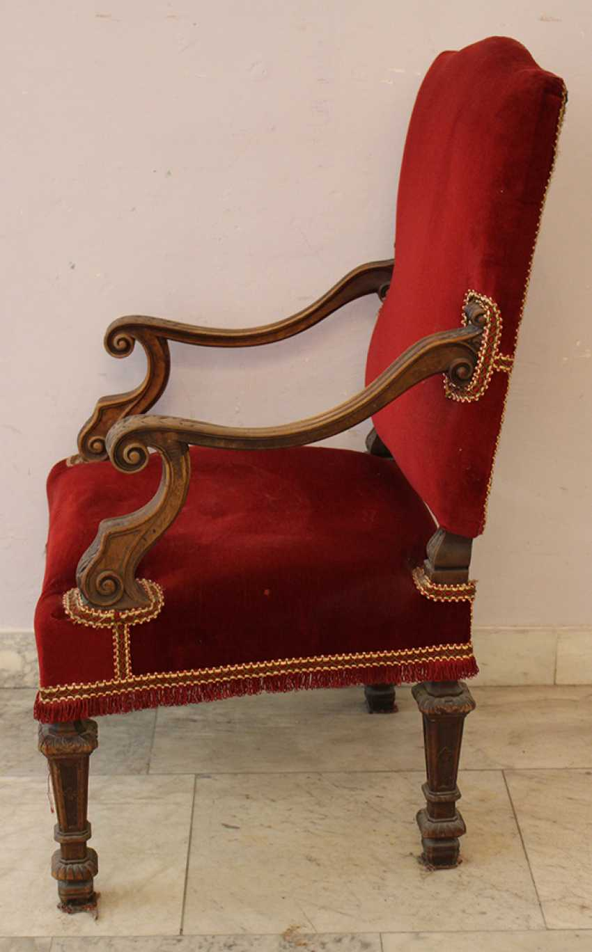 Arm chair in Baroque Style  - photo 3