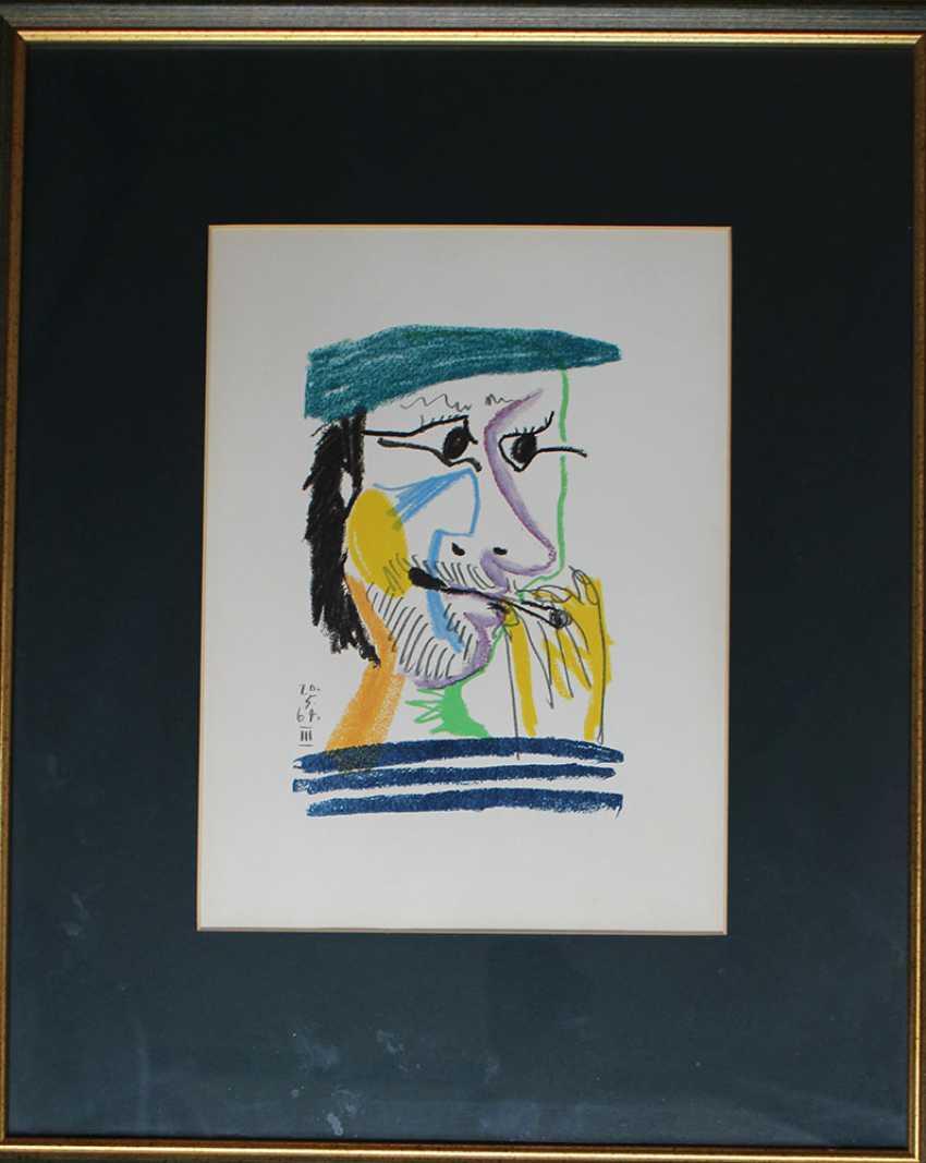 Pablo Picasso (1881 -1973)- Graphic - photo 1