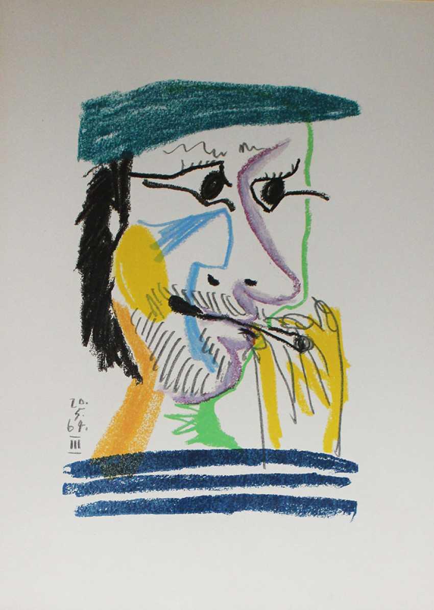 Pablo Picasso (1881 -1973)- Graphic - photo 2