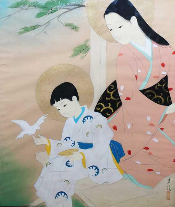 Two Vietnamese Paintings - photo 1