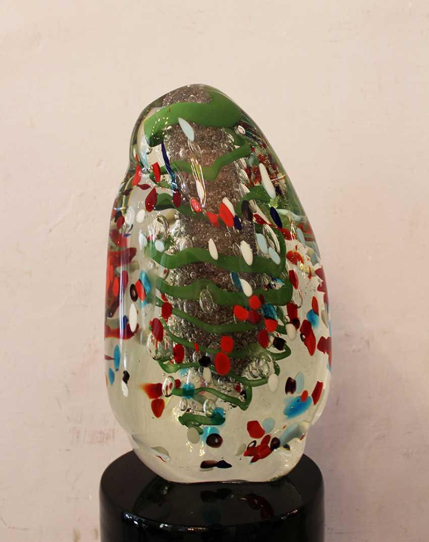 Murano Glass Sculpture  - photo 2
