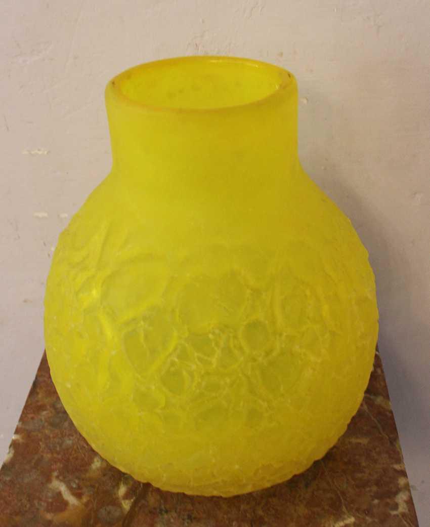 Italian Glass Vase around 1960 - photo 1