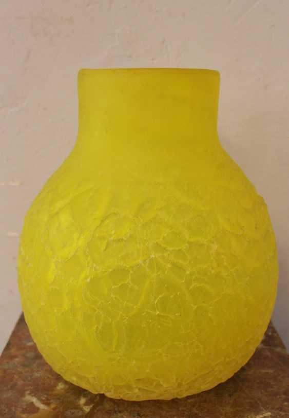 Italian Glass Vase around 1960 - photo 3
