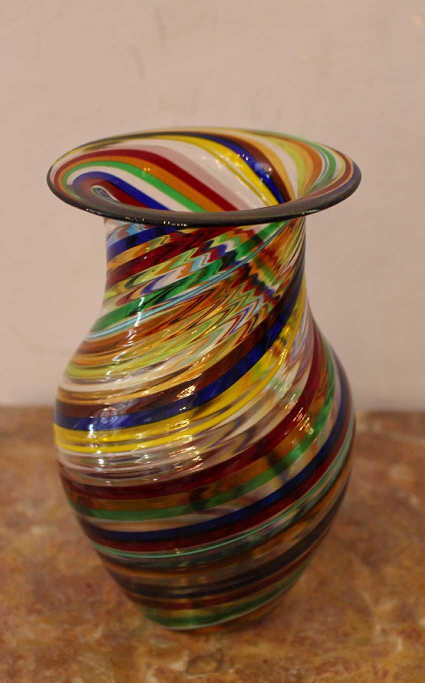 Murano Glass Vase - photo 3
