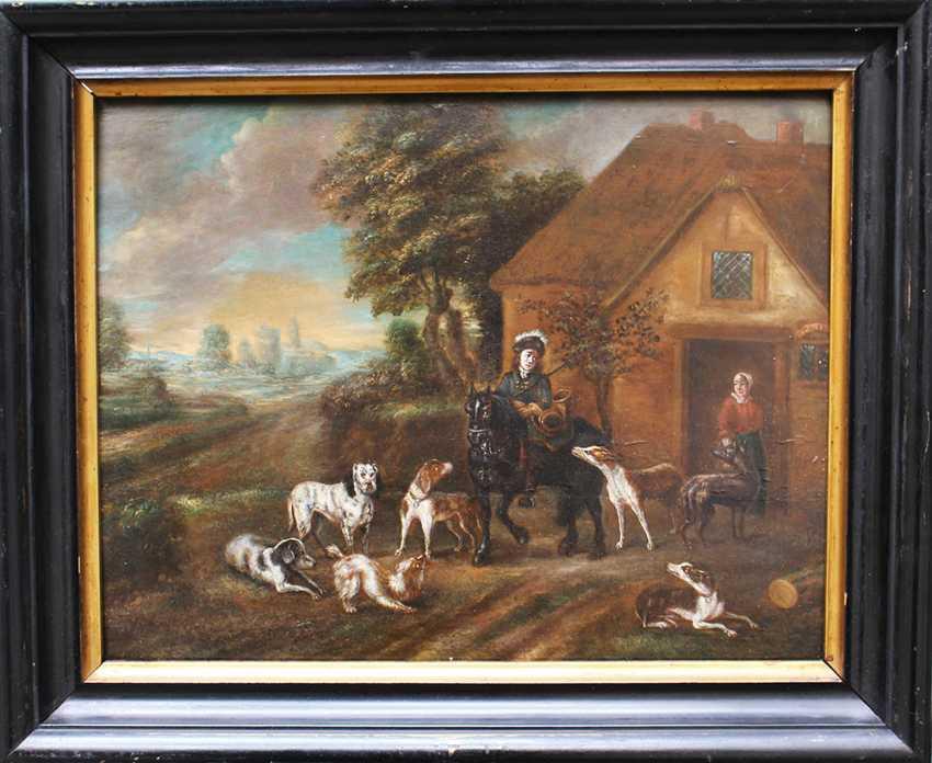 Adriaen Cornelsiz Beeldemaker ( 1618-1736)-attributed - photo 1