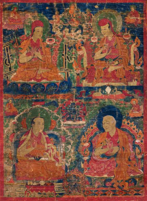 Four scholars from the Tradition of the Sakya-pa - photo 1