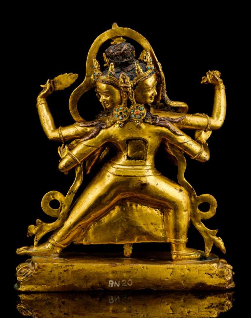 Fine and important Bronze of the PARNASHABARI - photo 2