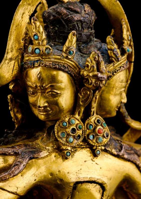 Fine and important Bronze of the PARNASHABARI - photo 3