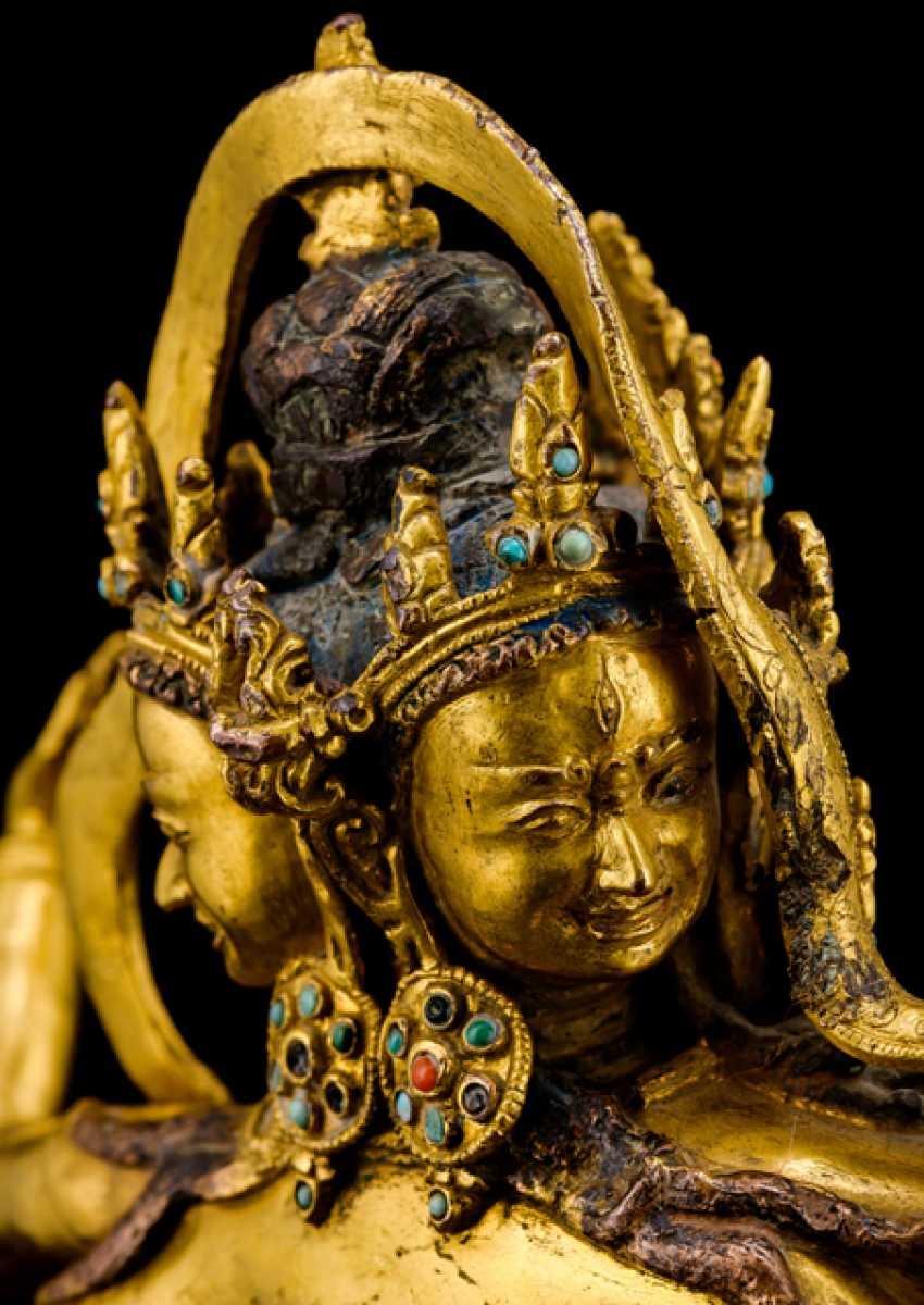 Fine and important Bronze of the PARNASHABARI - photo 4