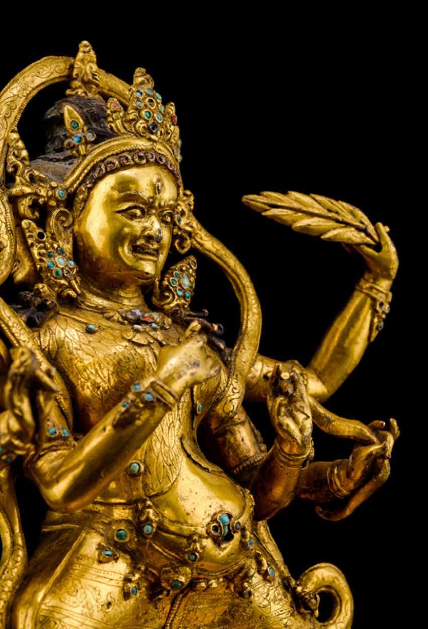 Fine and important Bronze of the PARNASHABARI - photo 5