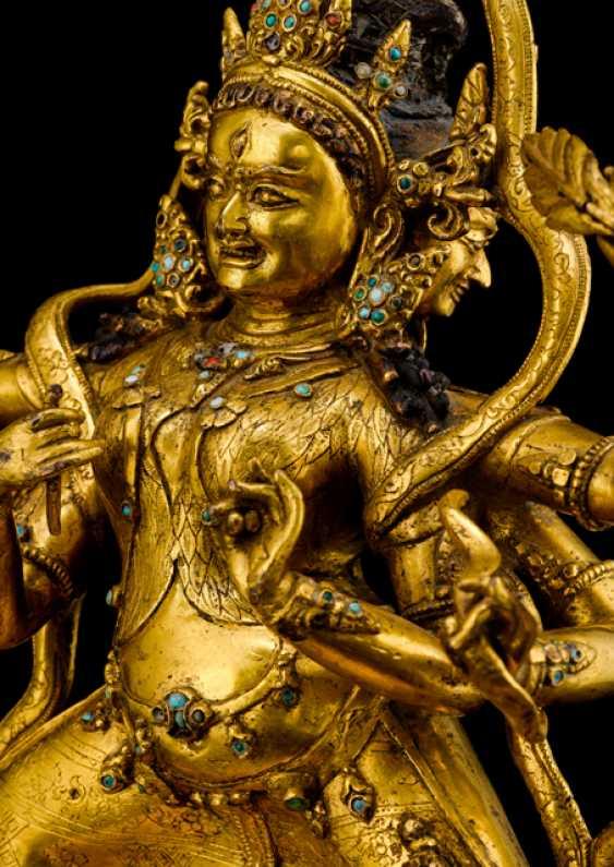 Fine and important Bronze of the PARNASHABARI - photo 6