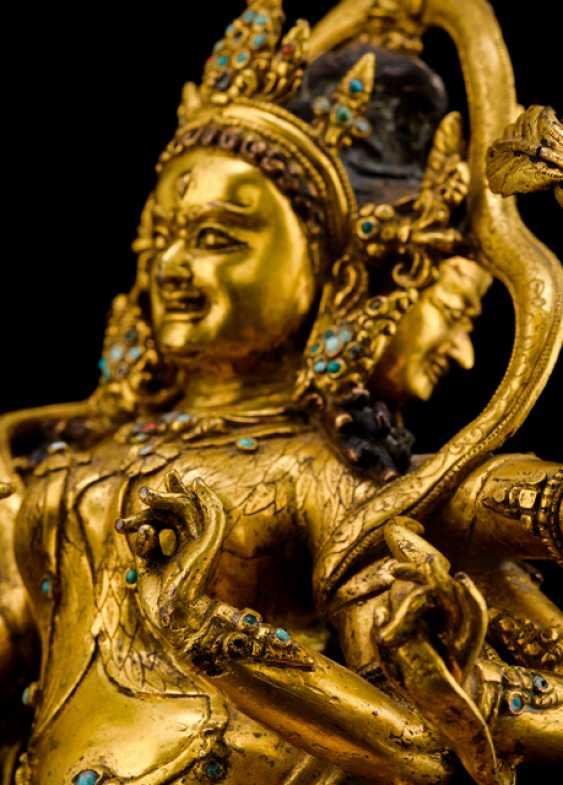 Fine and important Bronze of the PARNASHABARI - photo 7