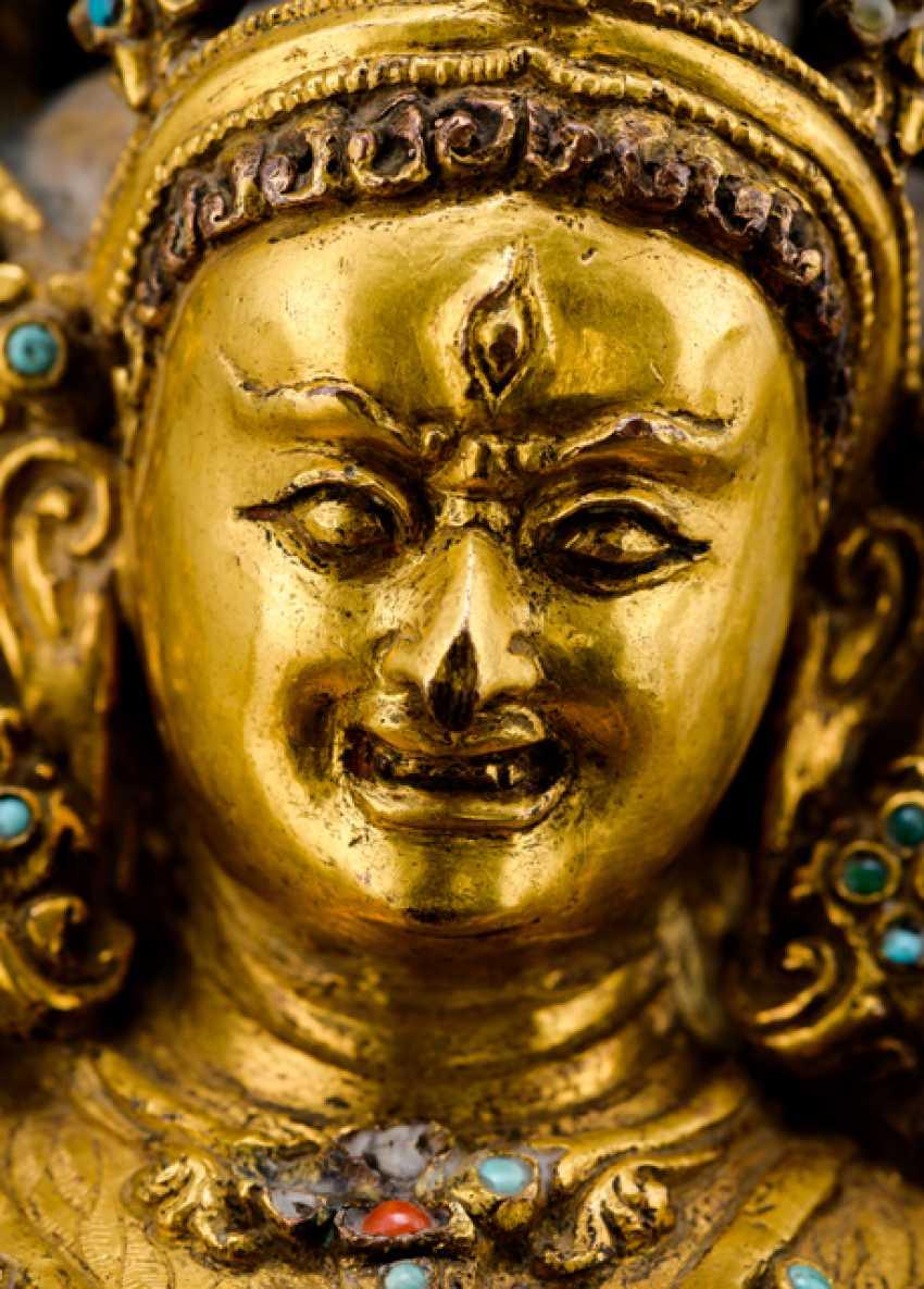 Fine and important Bronze of the PARNASHABARI - photo 8