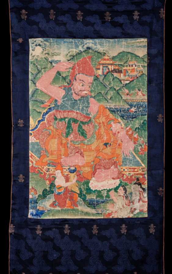 The Acarya Vasubandhu - Guru of Indian origin (316-396) - photo 1