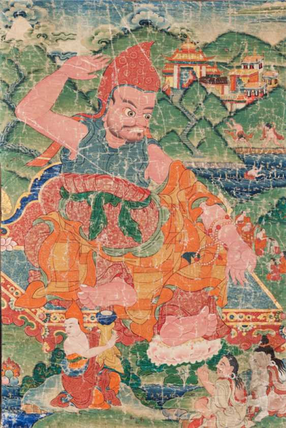The Acarya Vasubandhu - Guru of Indian origin (316-396) - photo 2
