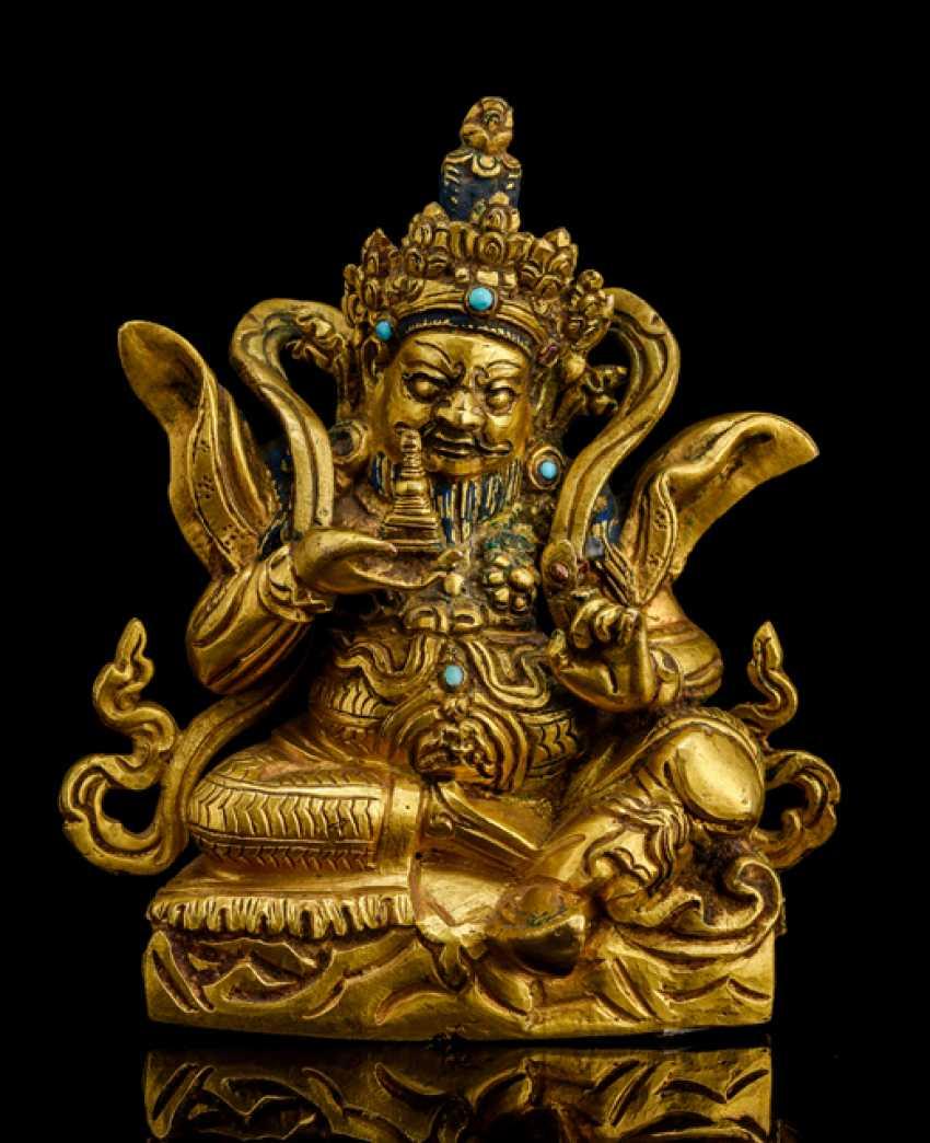 Fire-gilt Bronze of the Virupaksha - photo 1