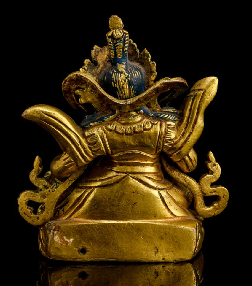 Fire-gilt Bronze of the Virupaksha - photo 2