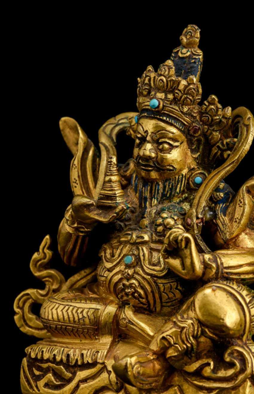 Fire-gilt Bronze of the Virupaksha - photo 3