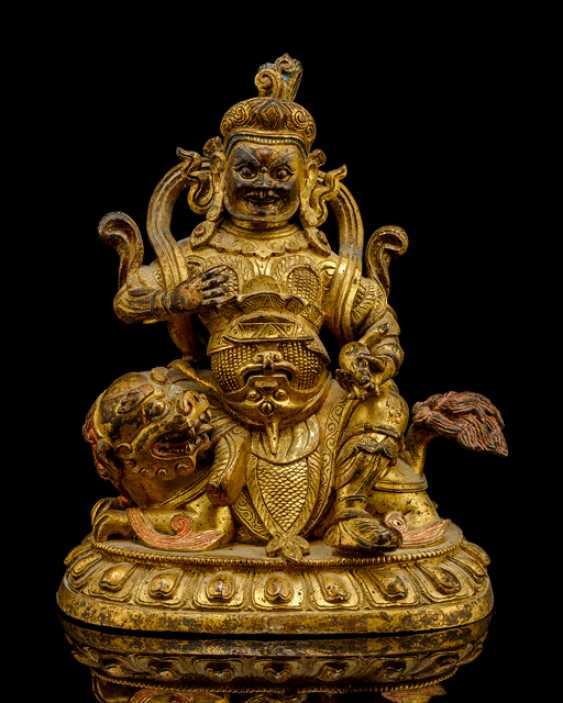 Feuervergoldete Bronze des Vaishravana - photo 1