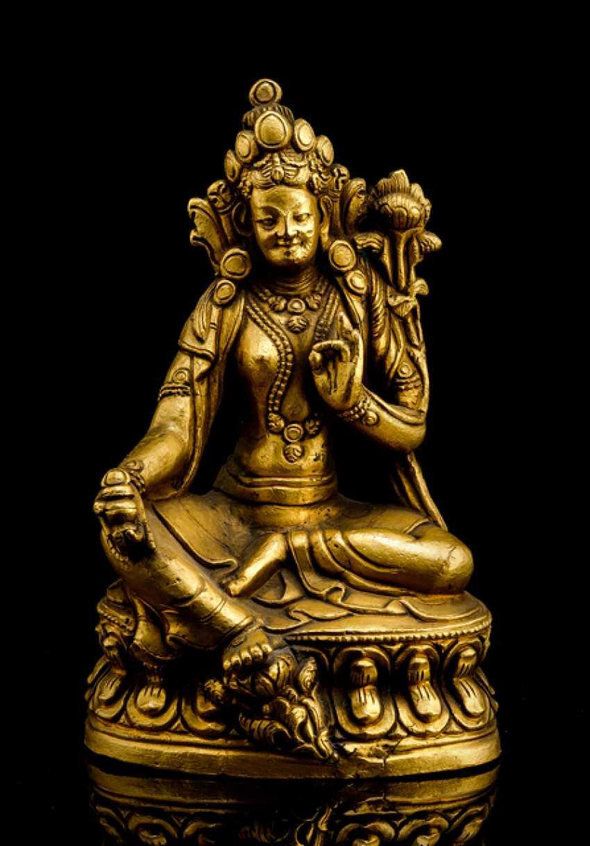 Bronze Tara - photo 1