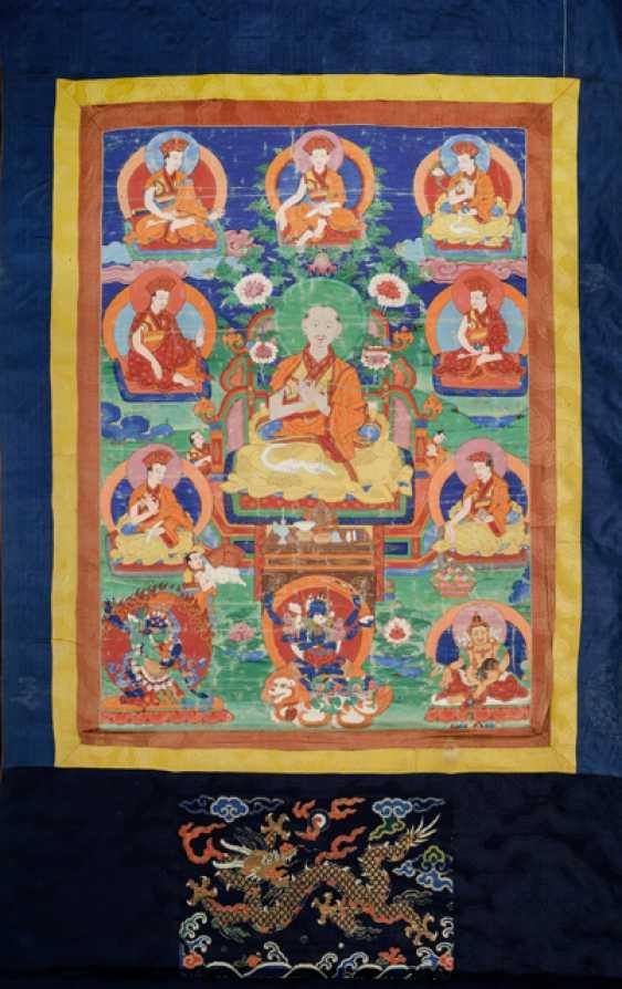 Linienthangka der Drukpa-Tradition - photo 1