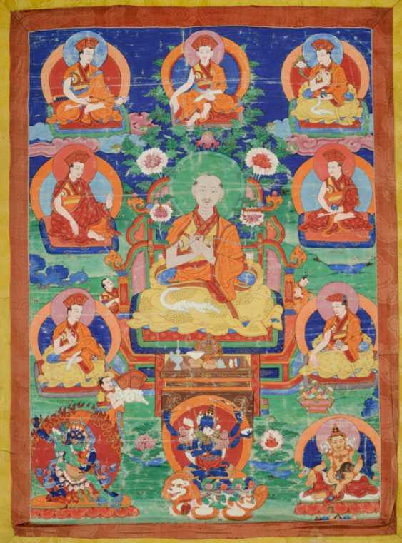 Linienthangka der Drukpa-Tradition - photo 3