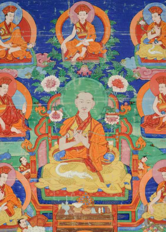 Linienthangka der Drukpa-Tradition - photo 4