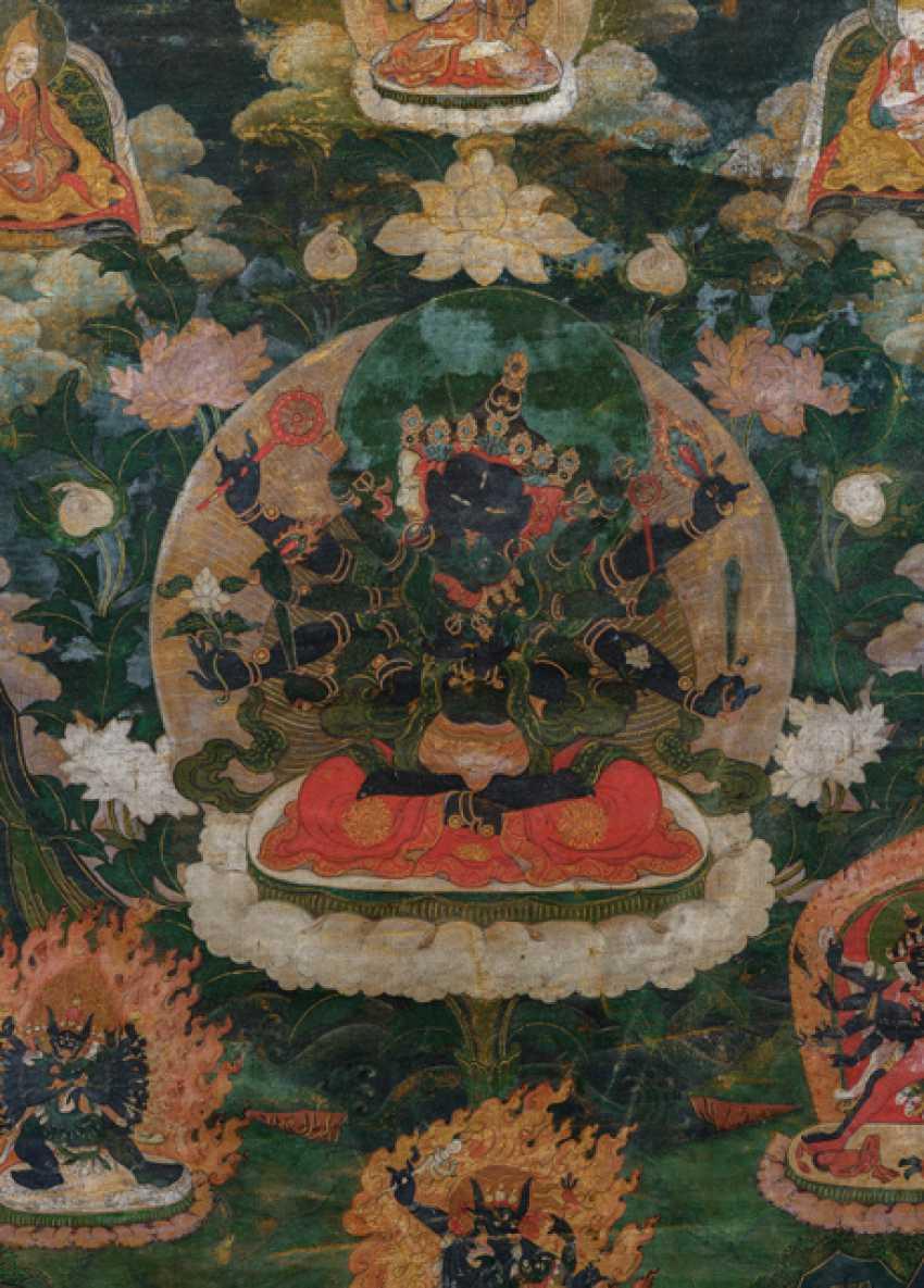 Thangka der GUHYASAMAJA in yab-yum - photo 2