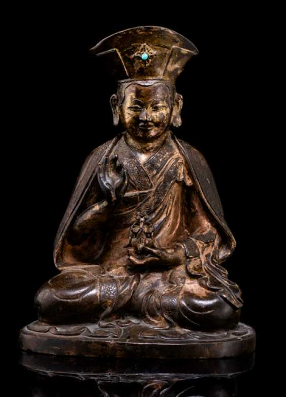 Bronze of a Lama - photo 1