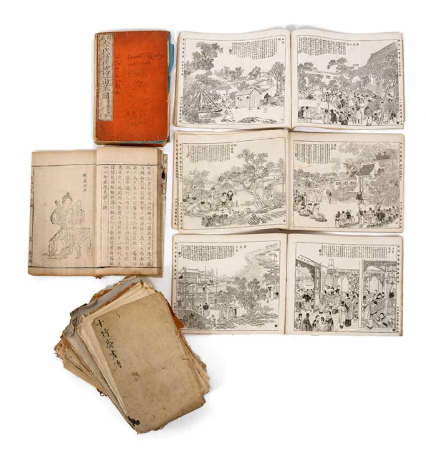 Konvolut von vier Bänden - Foto 1