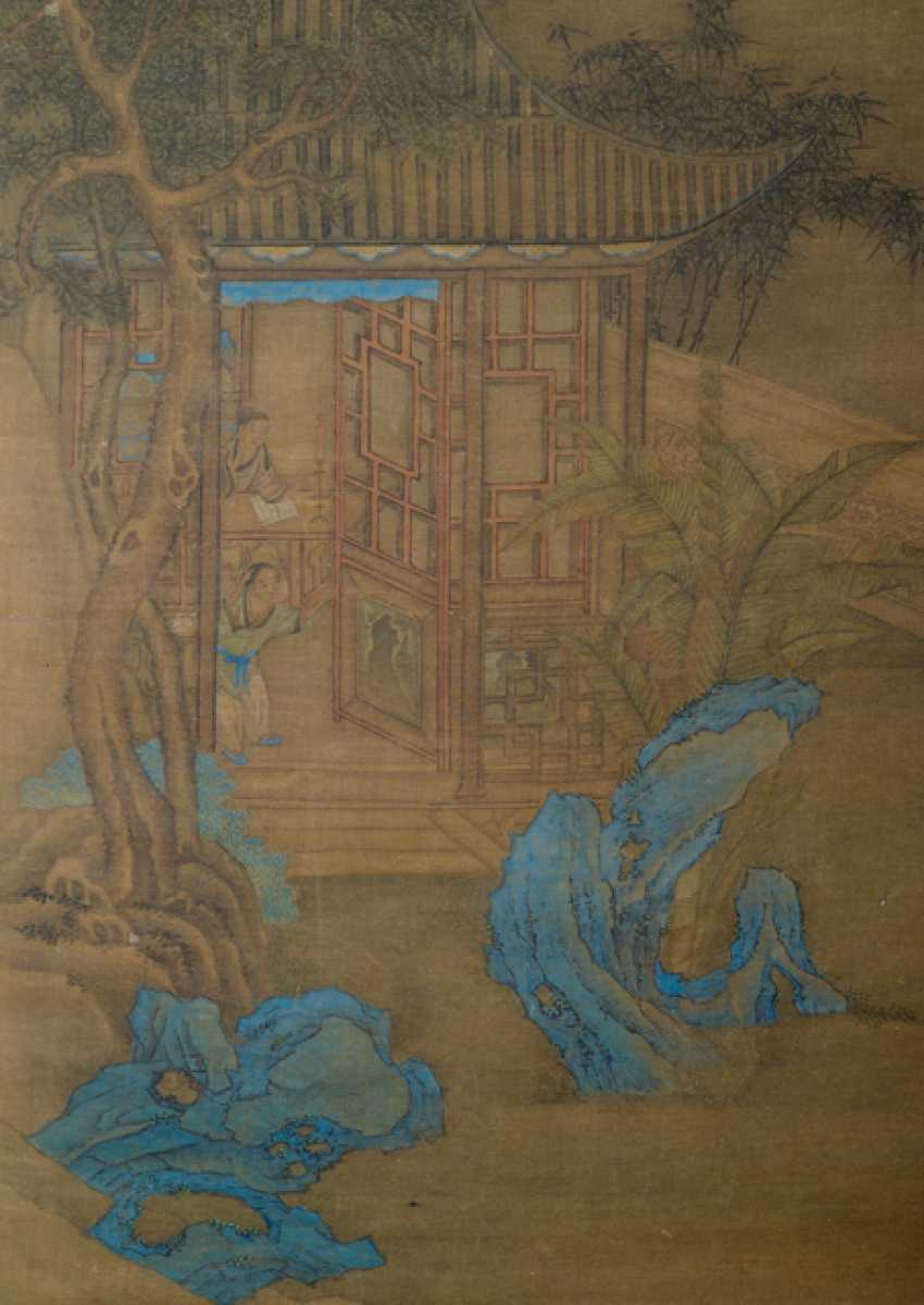 Painting in the style of Wang Fu (1362-1416) and two anonymous paintings - photo 3