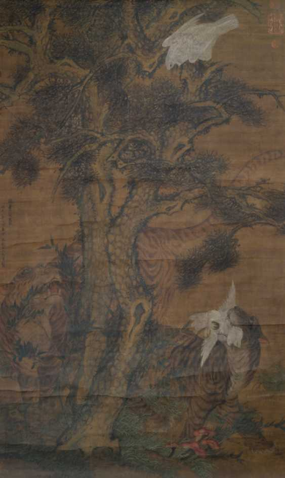 Painting in the style of Wang Fu (1362-1416) and two anonymous paintings - photo 4