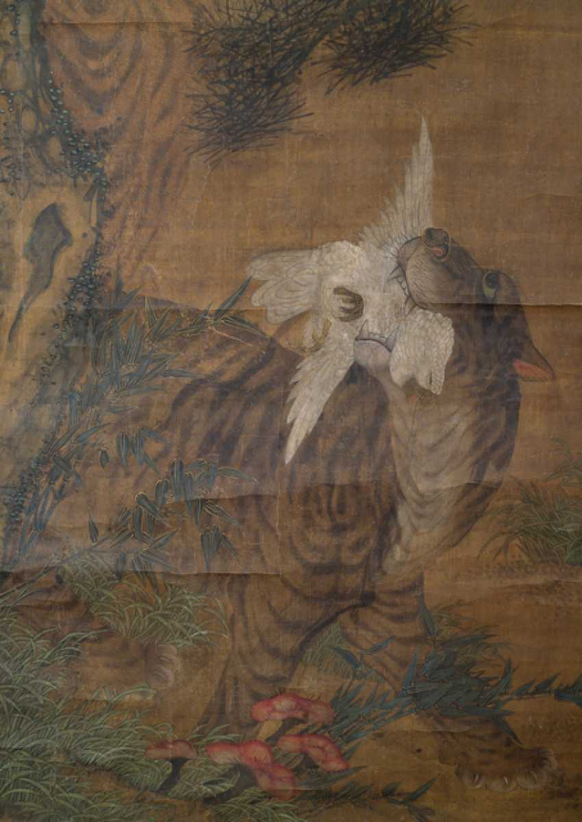 Painting in the style of Wang Fu (1362-1416) and two anonymous paintings - photo 7