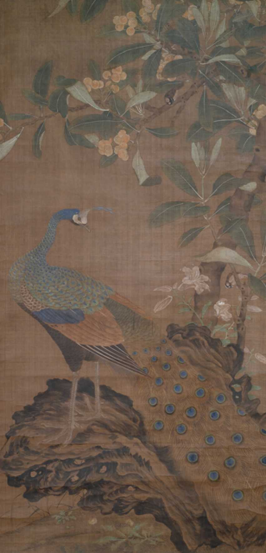 Painting in the style of Wang Fu (1362-1416) and two anonymous paintings - photo 8