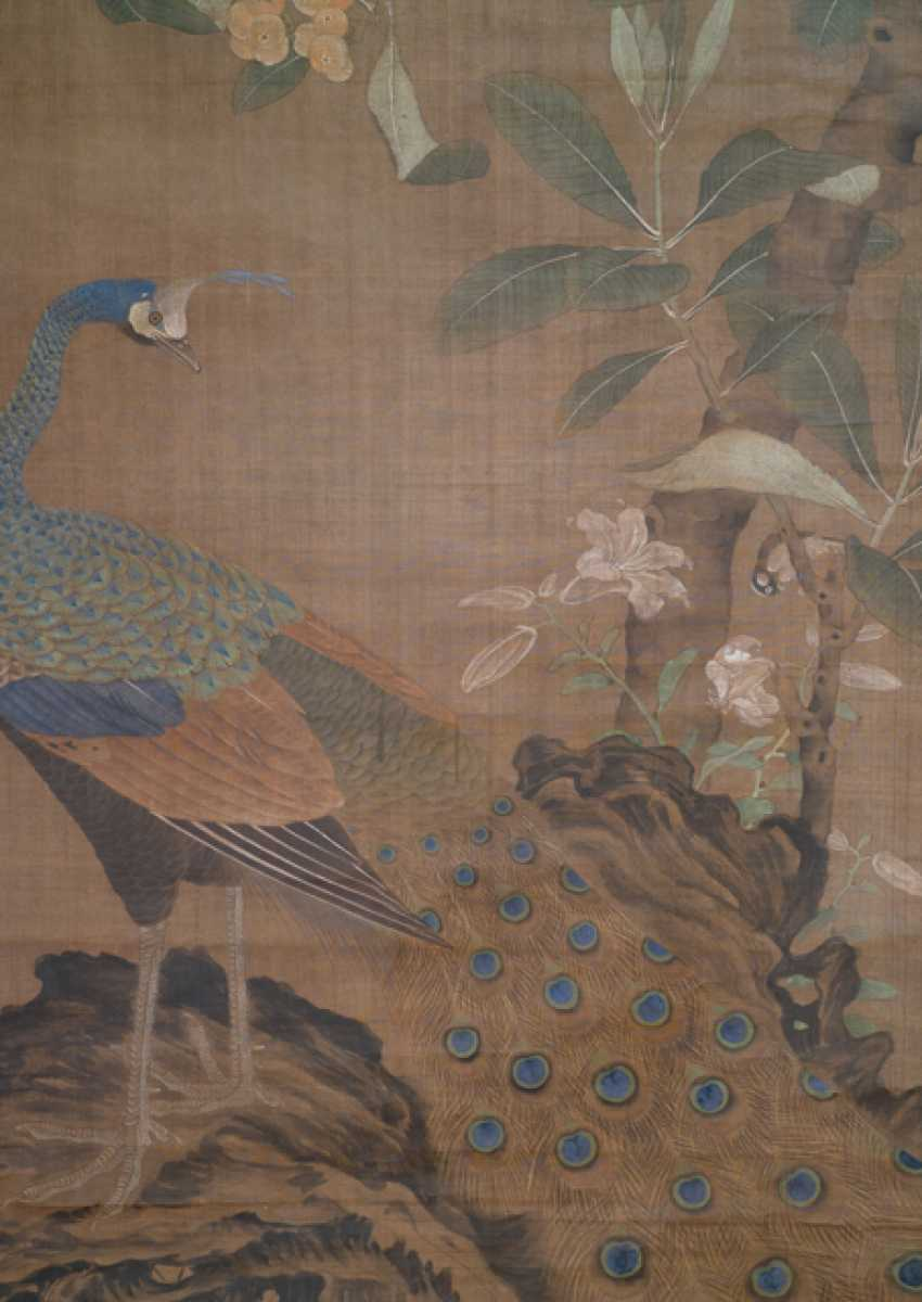 Painting in the style of Wang Fu (1362-1416) and two anonymous paintings - photo 9