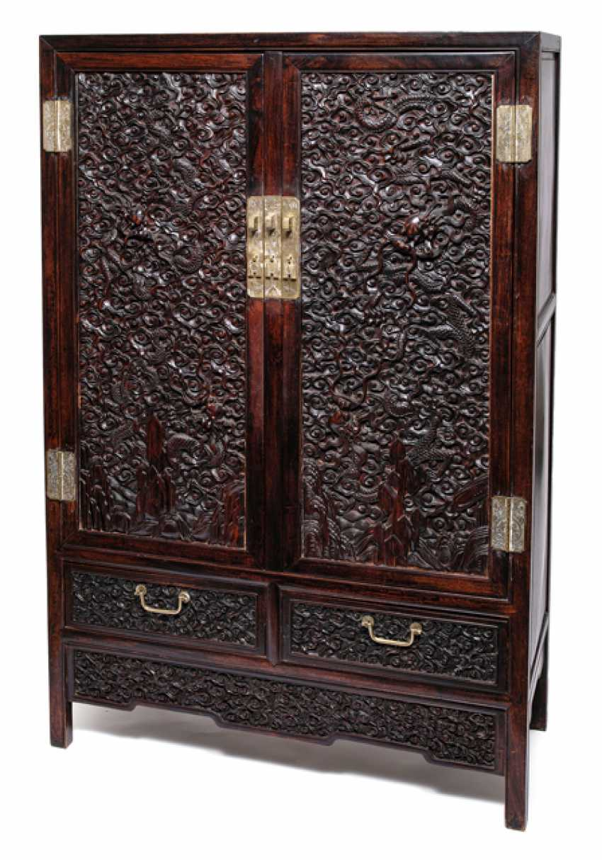 Fine Cabinet made of hard wood - photo 1