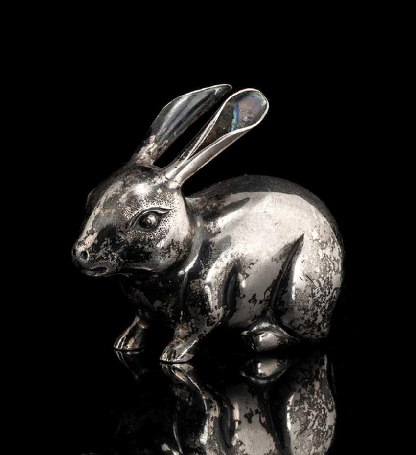 Salt shaker in the shape of a rabbit - photo 1