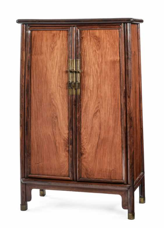 Conical Cabinet made of hard wood - photo 1