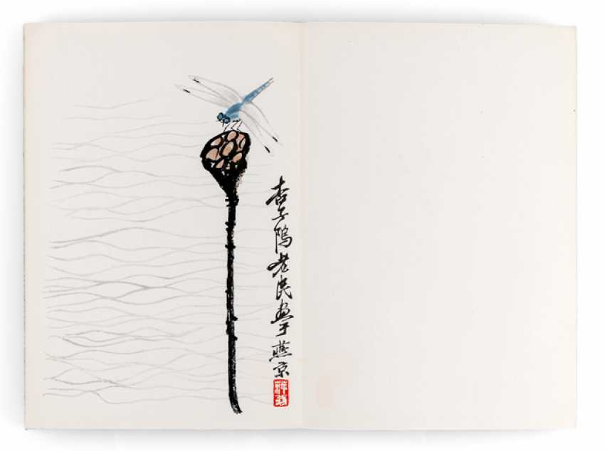 Book 'collection of paintings of Qi Baishi' - photo 1