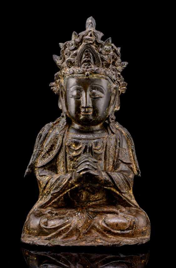 Bronze des Guanyin - photo 1