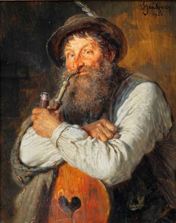 """GRÜTZNER, EDUARD VON (big karlowitz 1846-1925 Munich, hunting and genre painter), """"Tyrolean forest guardians"""" - photo 1"""