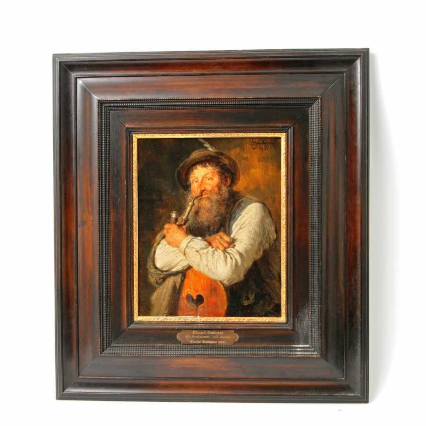 GRÜTZNER, EDUARD VON (big karlowitz 1846-1925 Munich, hunting and genre painter),