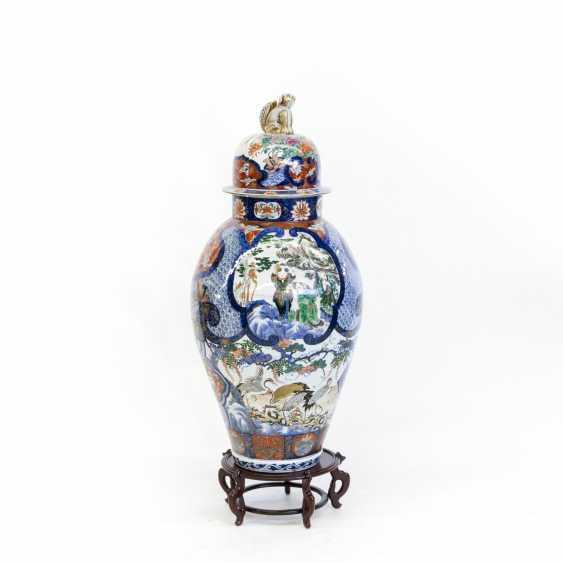 Imari-Palastvase. CHINA, um 1900