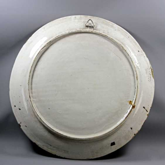 TWO Large ISTORIATO PLATES